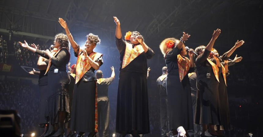 Harlem Gospel Choir, al Duse