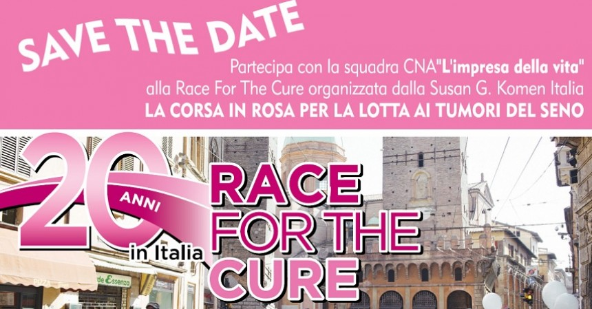 Race for the cure 2019: squadra Cna